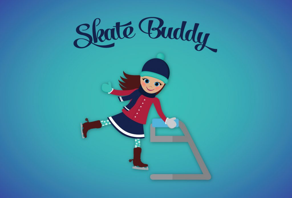 Skate Puddy Pass Cards Design & character illustration