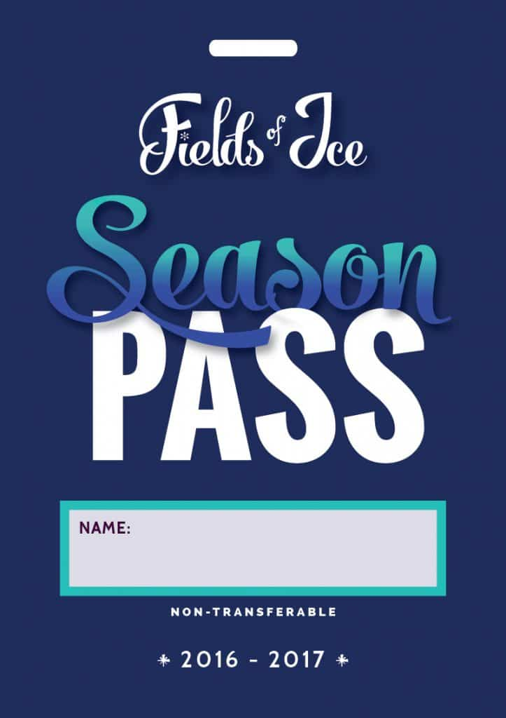 Season Pass Design, Fields of Ice (2016)