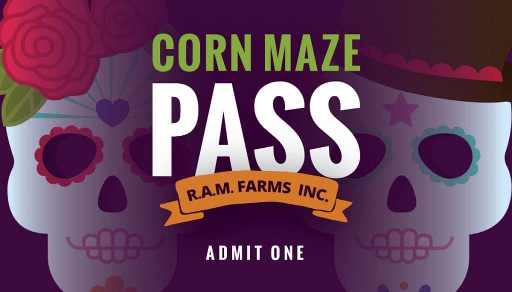 Corn Maze Pass Design (2018)