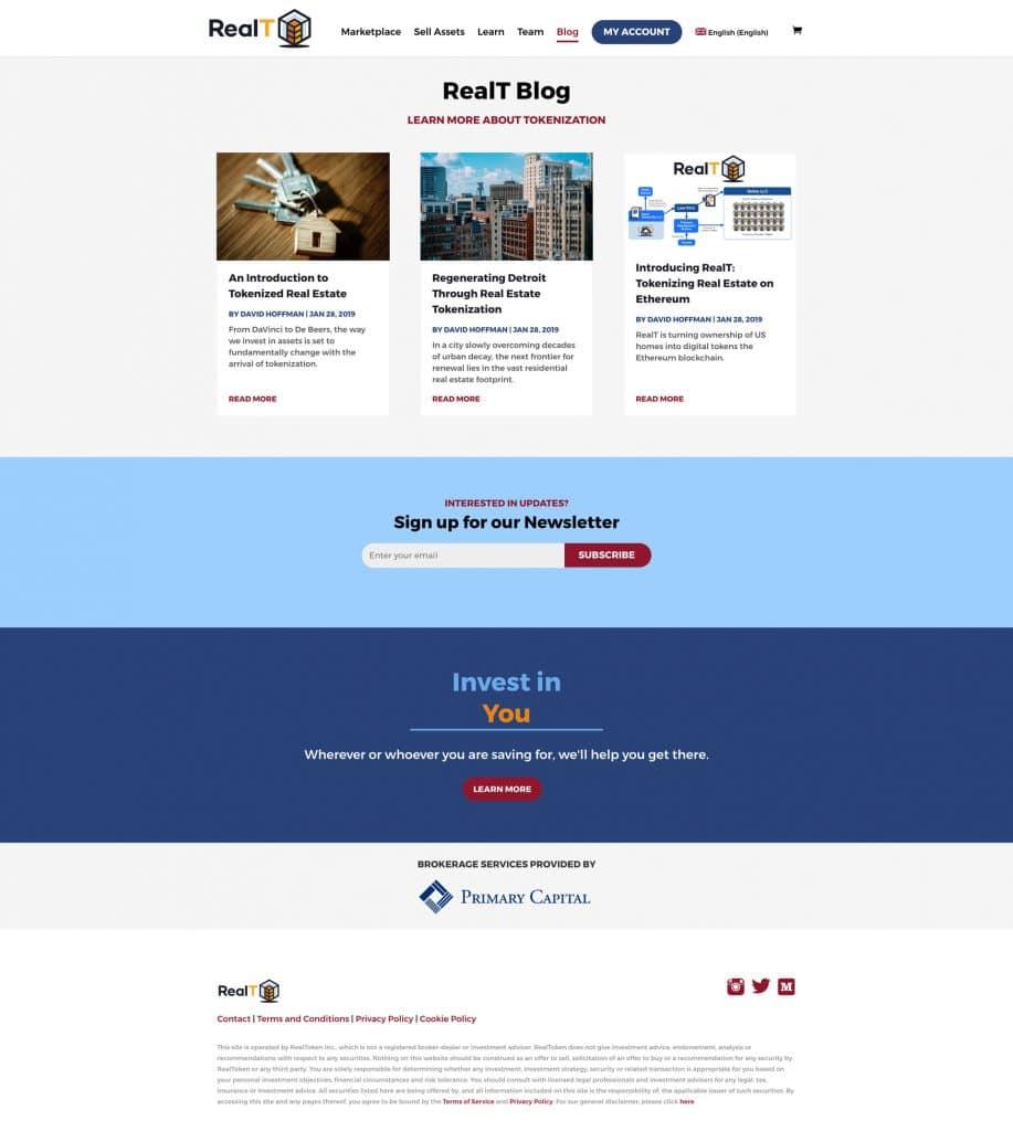 realT: 404 Blog Page