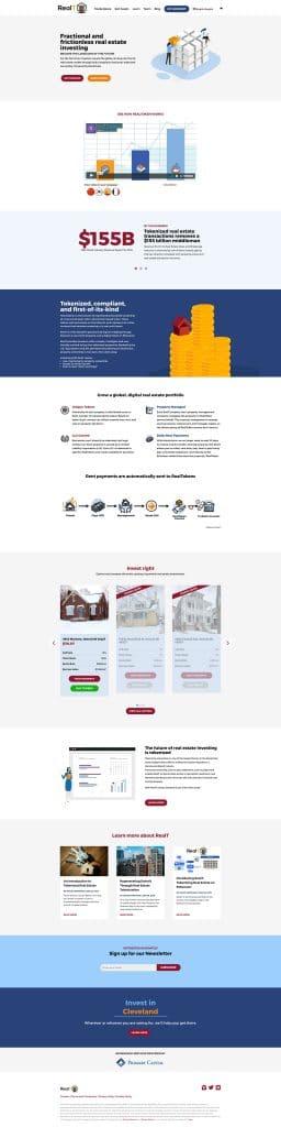 realT: Homepage
