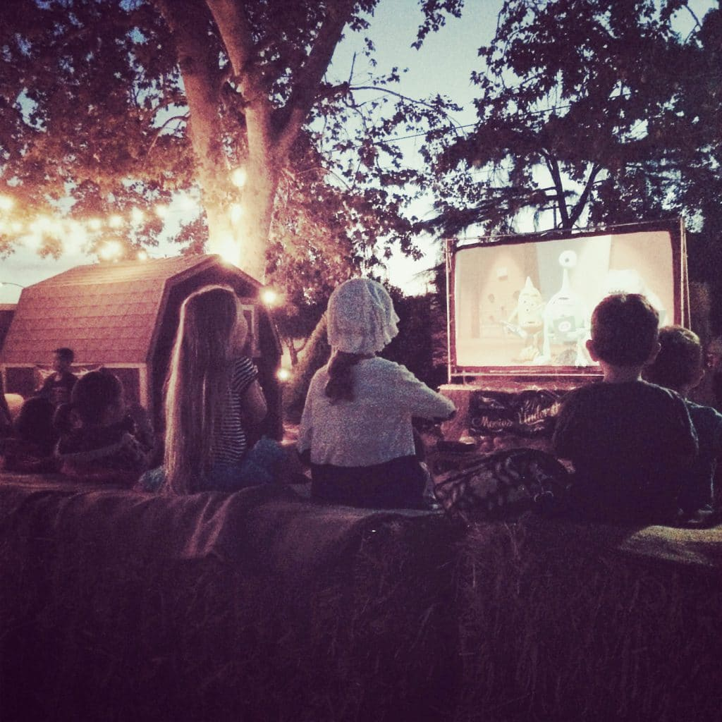 Movies Under the Stars Ampitheatre