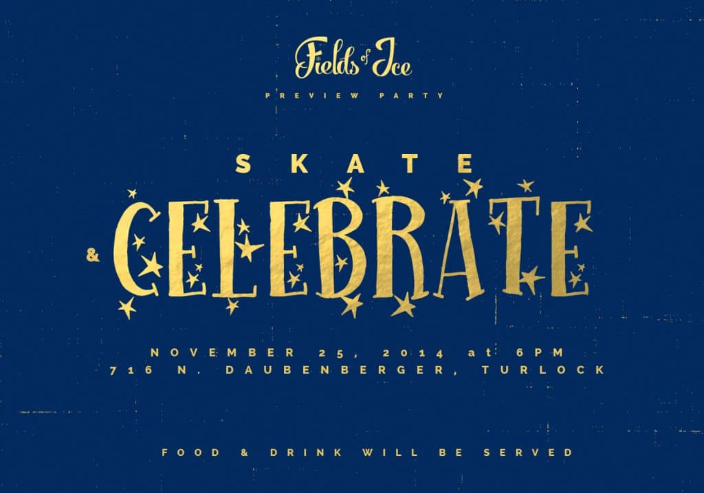 R.A.M. Farms Inc: Invite Design, Skate and Celebrate