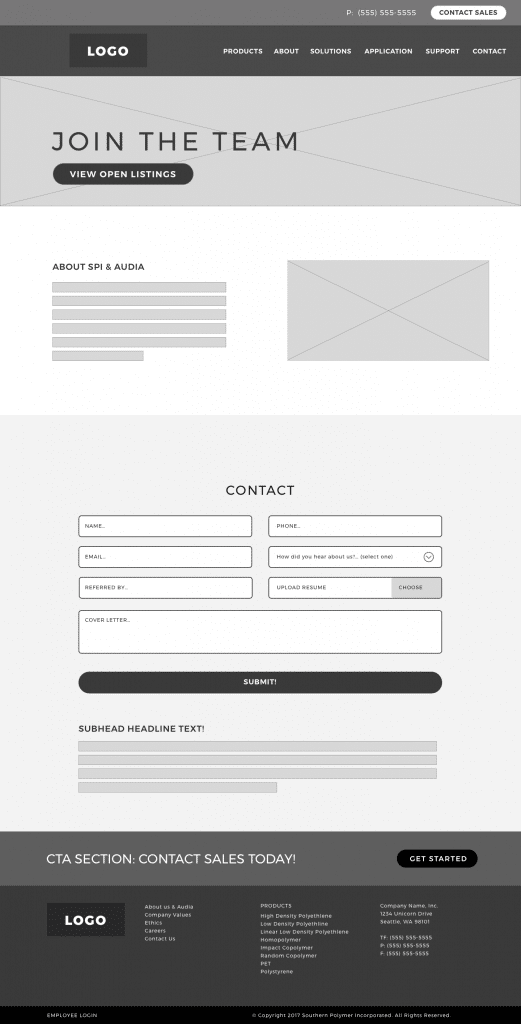 Action-Page-wireframe