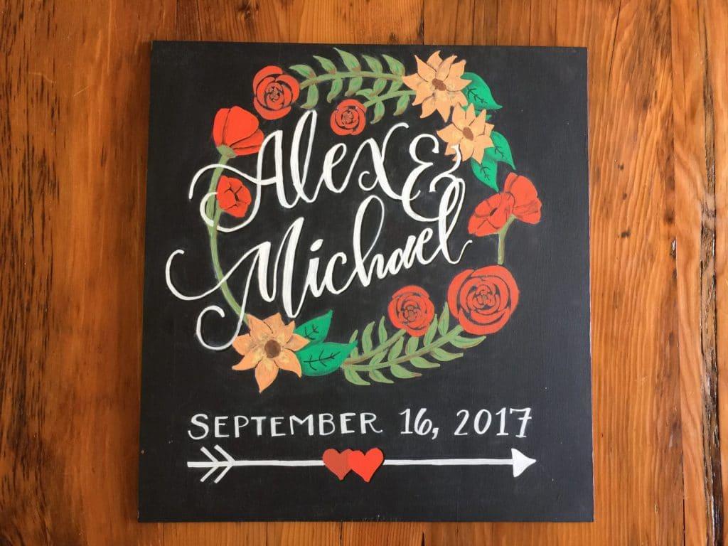 Alex & Michael Chaklboard