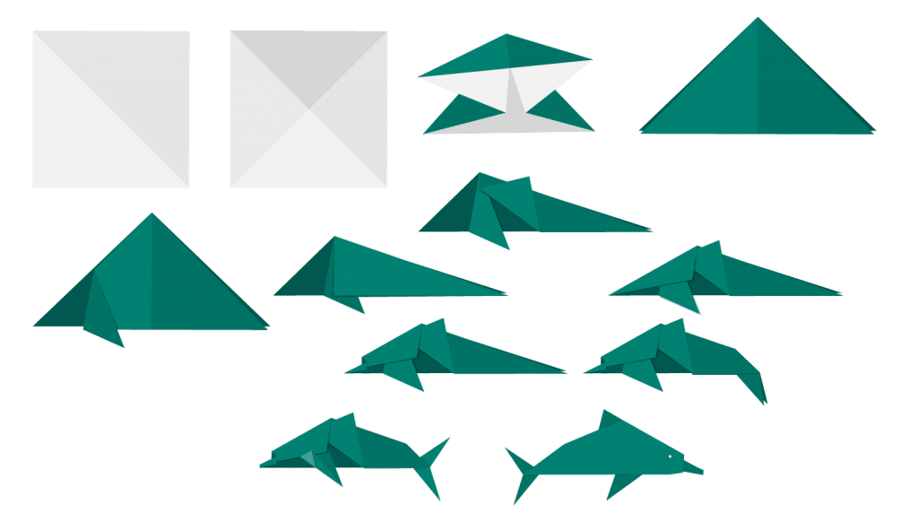 Dolphin Origami (MSFT)