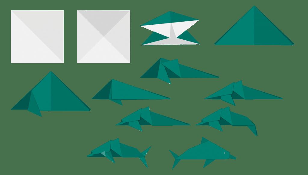 Dolphin Origami (MSFT)